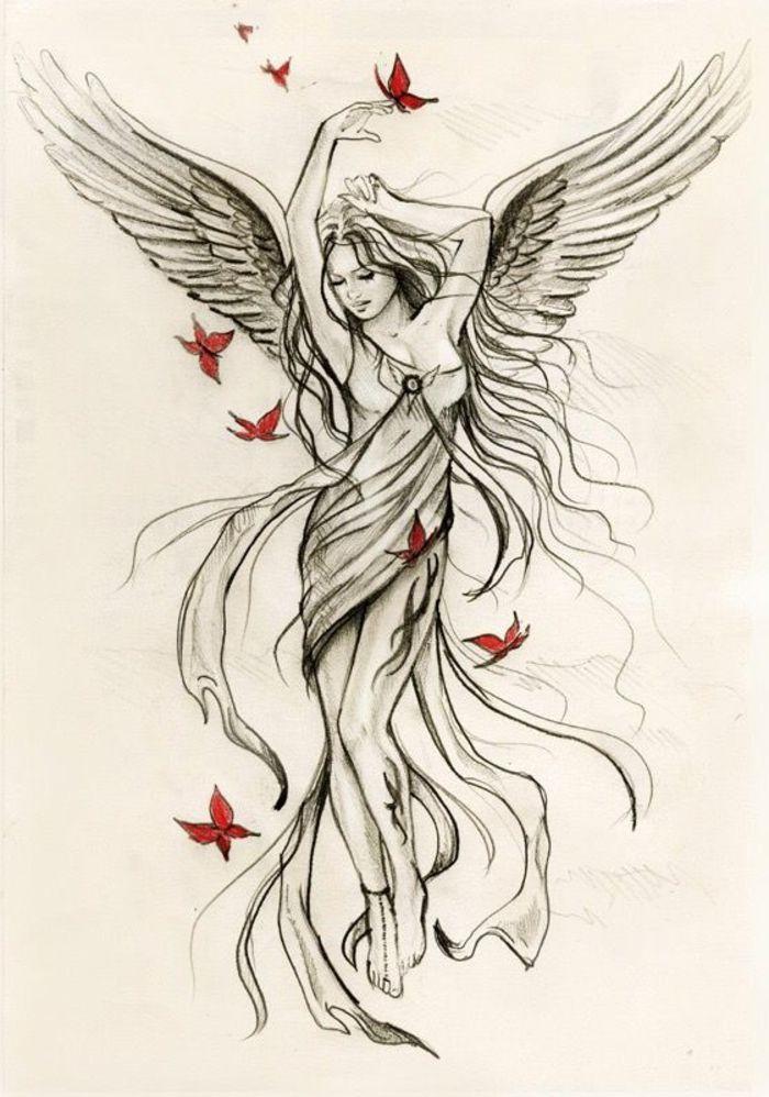 Bildergebnis Fur Angel Zeichnungen Engel 8