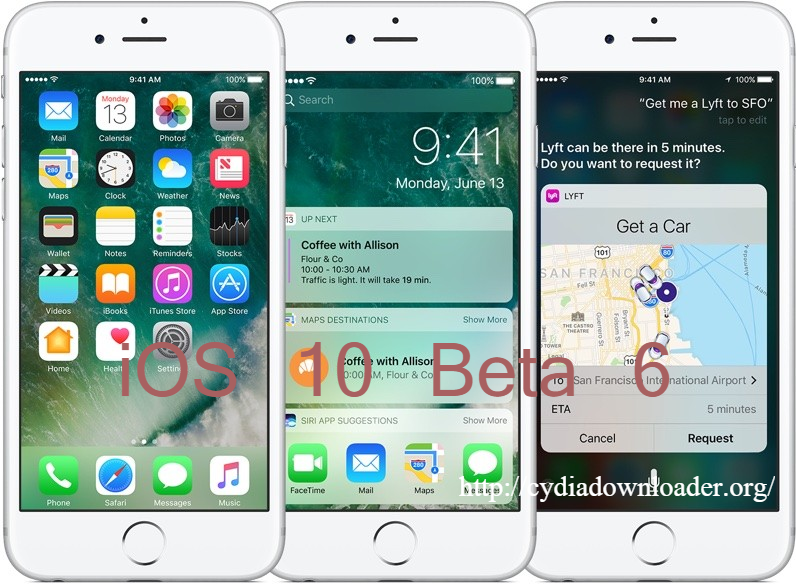 Apple Seeds Sixth Beta of iOS 10 to the Developers Ios