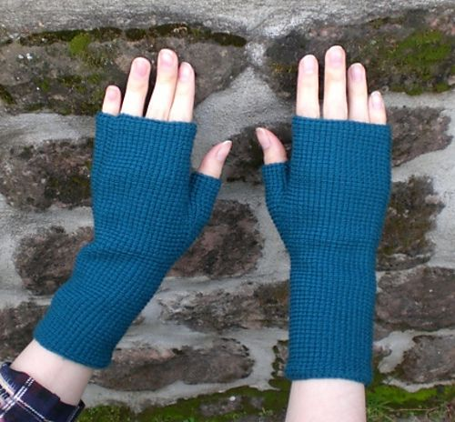 Ravelry Kylie Fingerless Mitts In Tunisian Simple Stitch Pattern By
