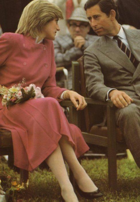 June 27, 1983: Prince Charles and Princess Diana at a Lobster Buffet and Musical…