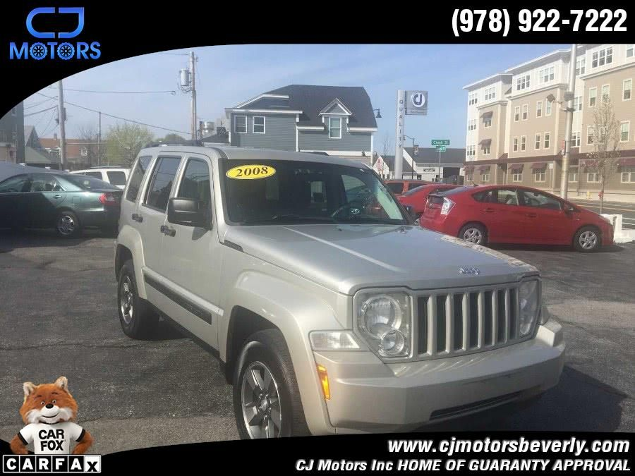 Used Jeep Liberty 4WD 4dr Sport 2008 CJ Motors Inc