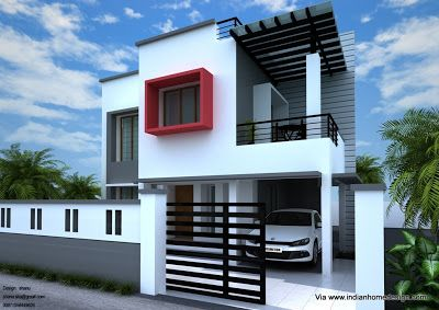 Home Plan And Elevation Design For A 1800 Sq Ft 3 Bedroom House Duplex House Design Kerala House Design Modern House Plans