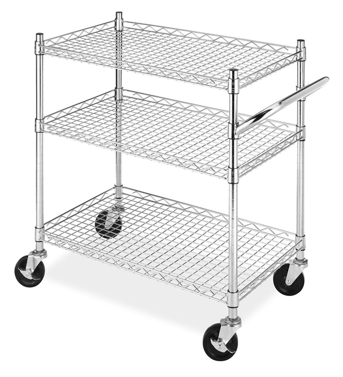 Whitmor Rolling 3 Tier Commercial Cart Reviews Cleaning