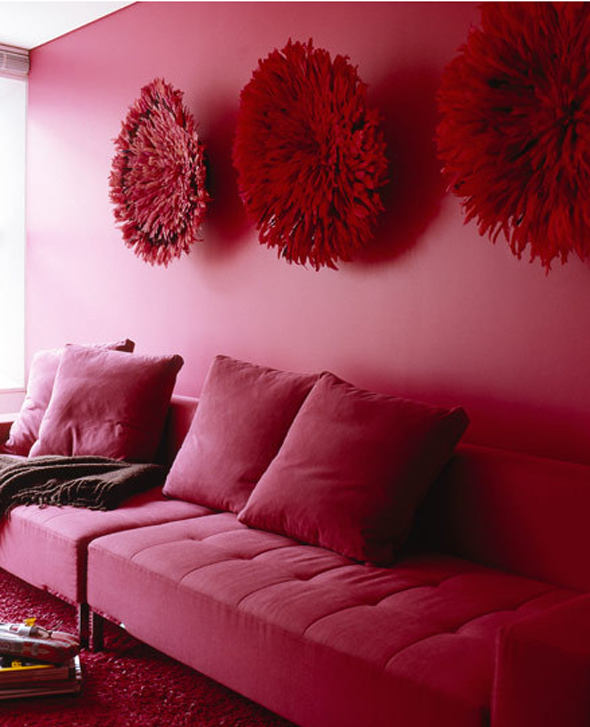 hot pink and burgundy | Pinteriors | Pinterest | Hot pink, Interiors ...