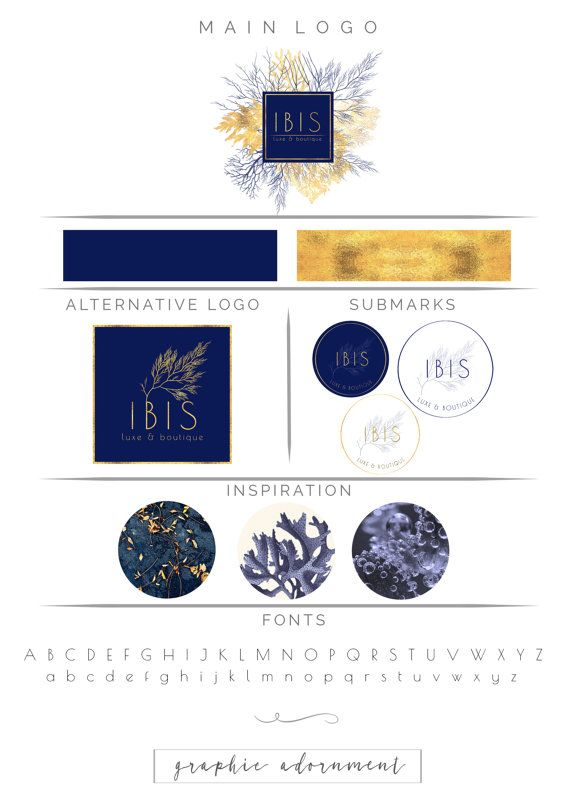 This premade Branding Package Logo Design Kit is a perfect ...