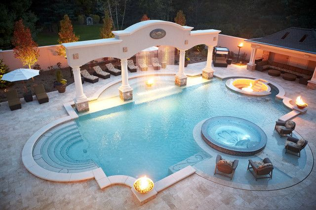 Outdoor Backyard Pools 5 poolside furnishings to complete the perfect oasis | pool