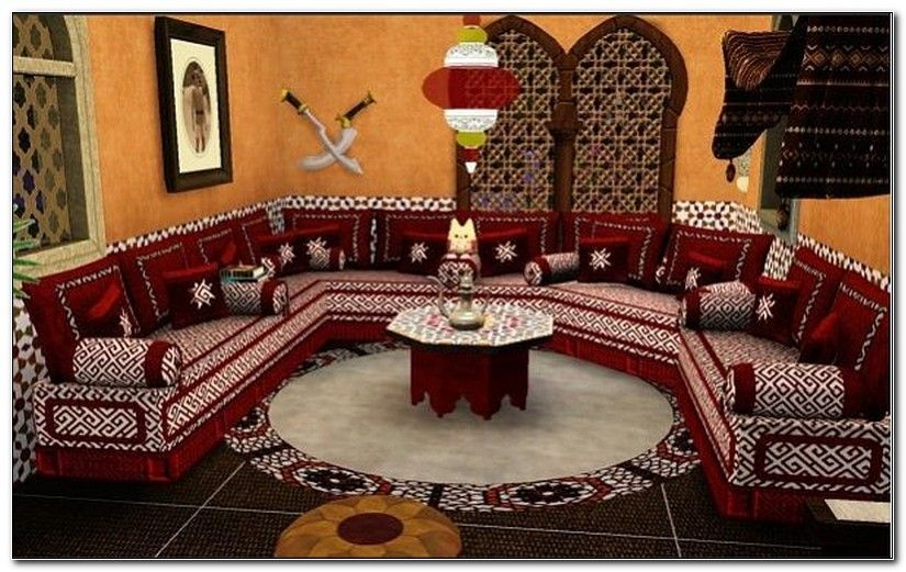 Moroccan Furniture Living Room Set