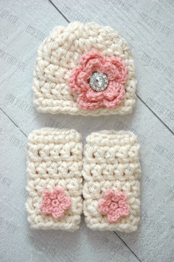 Newborn Girl Hat And Leg Warmers Set Baby Girl Hat Crochet Leg Warmers Baby Girl Clothes Baby Girl Comin Newborn Girl Hat Crochet Leg Warmers Girl With Hat