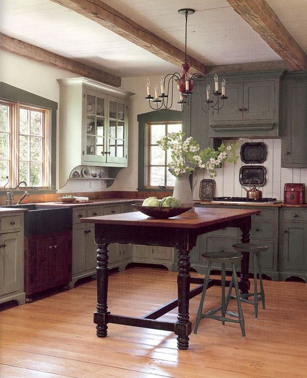Kitchen design inspiration for your beautiful home for Country kitchen inspiration