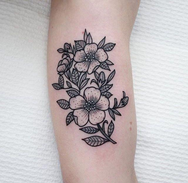 Jasmine Flower Tattoo Designs: Sashimi_roll_tattooing - Jasmine Flowers