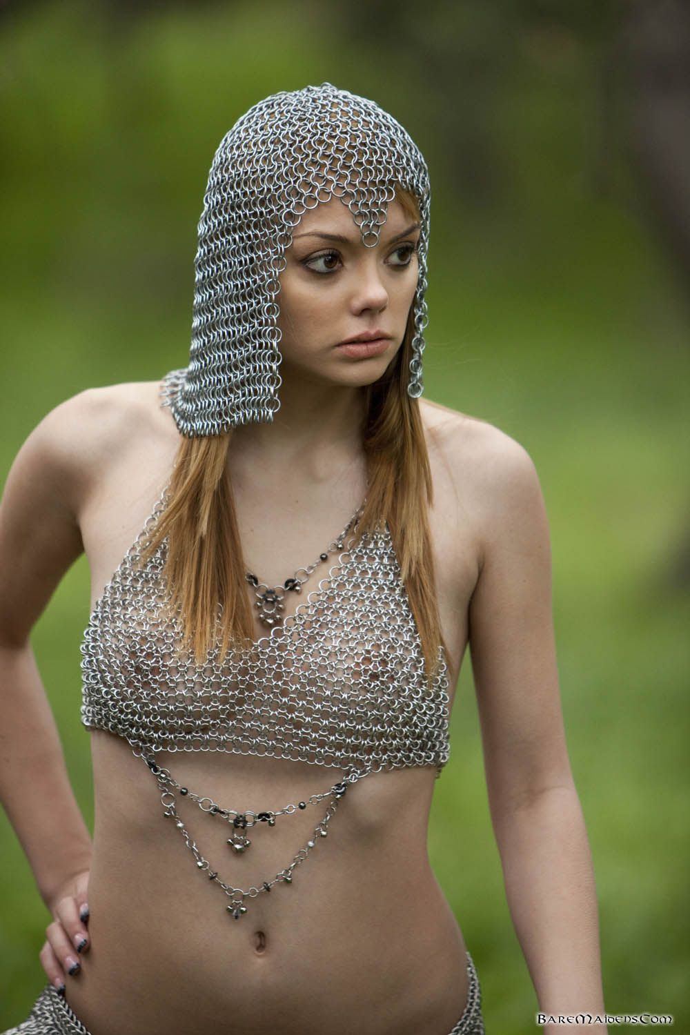 Sexy girls in armour