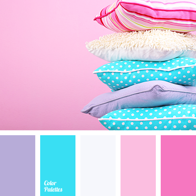 Pink Color Scheme i ❤ cool colors . . . color palette no 1891~ effective palette
