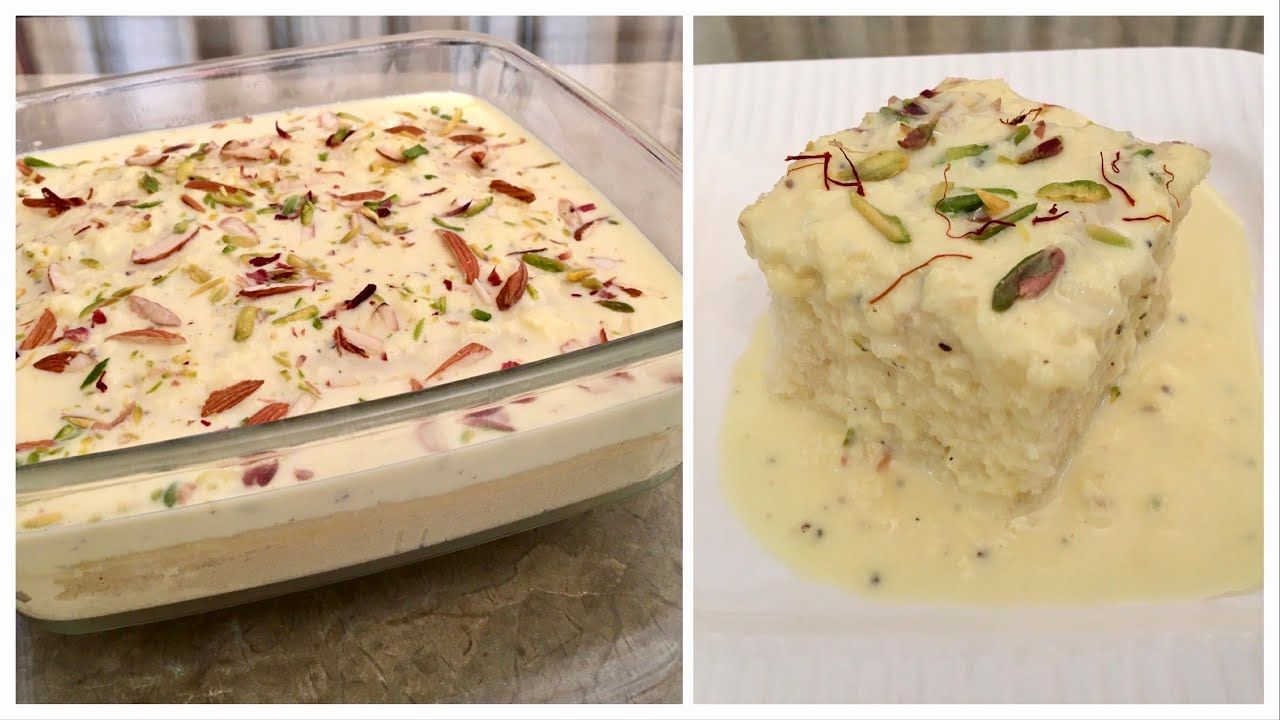 Super Soft Malai Cake No Cream No Egg Oven Milk Powder Condensed Milk Eid Special Dessert In 2020 Milk Powder Recipe Special Desserts Indian Dessert Recipes