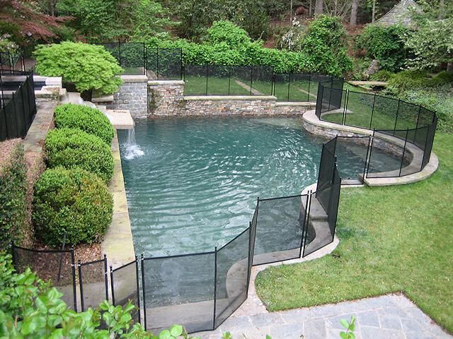 Safeguard Safety Removable Pool Fence And Gate Pertaining To