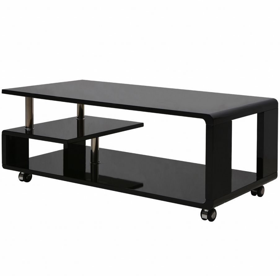Details about modern high gloss black coffee table living room details about modern high gloss black coffee table living room elegant furniture contemporary geotapseo Images