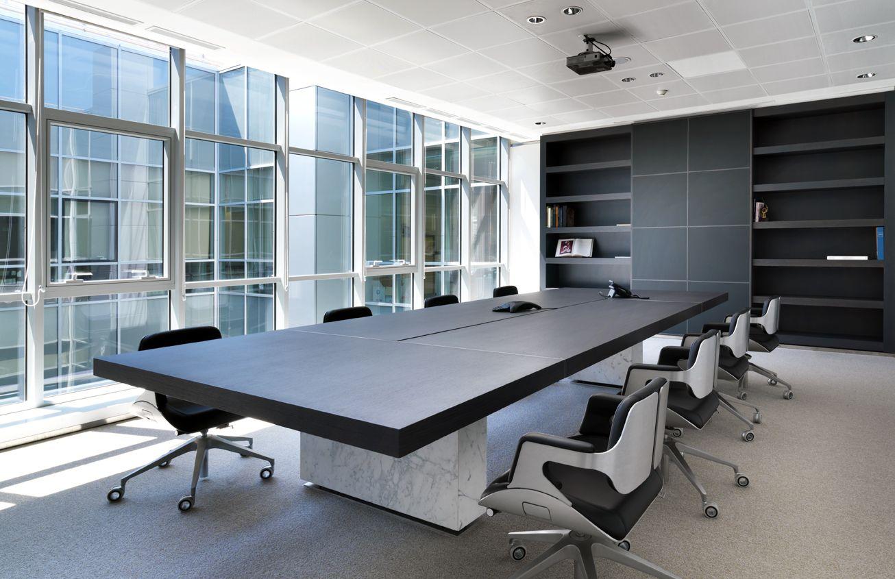 Proyecto rea de trabajo mesa de reuni n modelo for Mobiliario de oficina de diseno