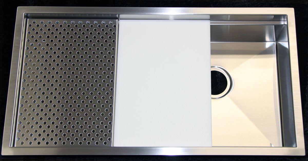 Rachiele Signature Series Stainless under mount sink Single bowl - küchenspüle mit unterschrank