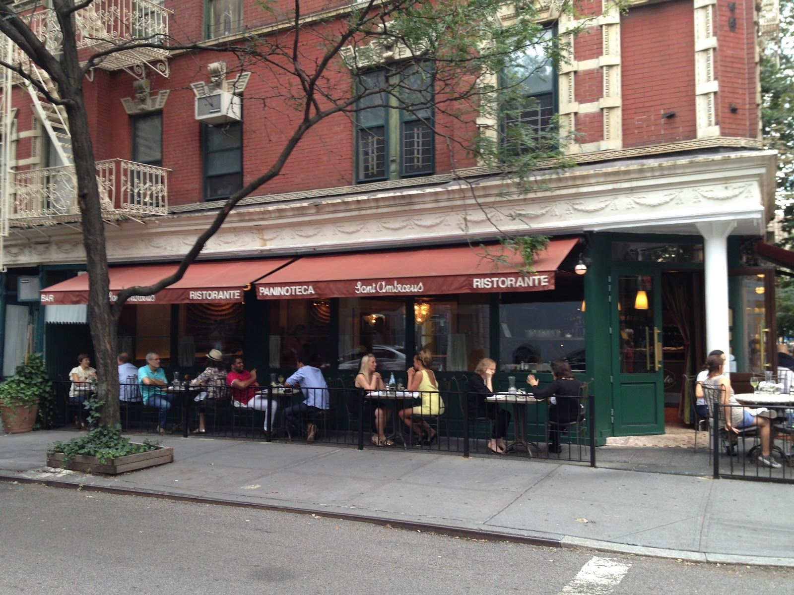 Sant Ambroeus West Village In New York Ny
