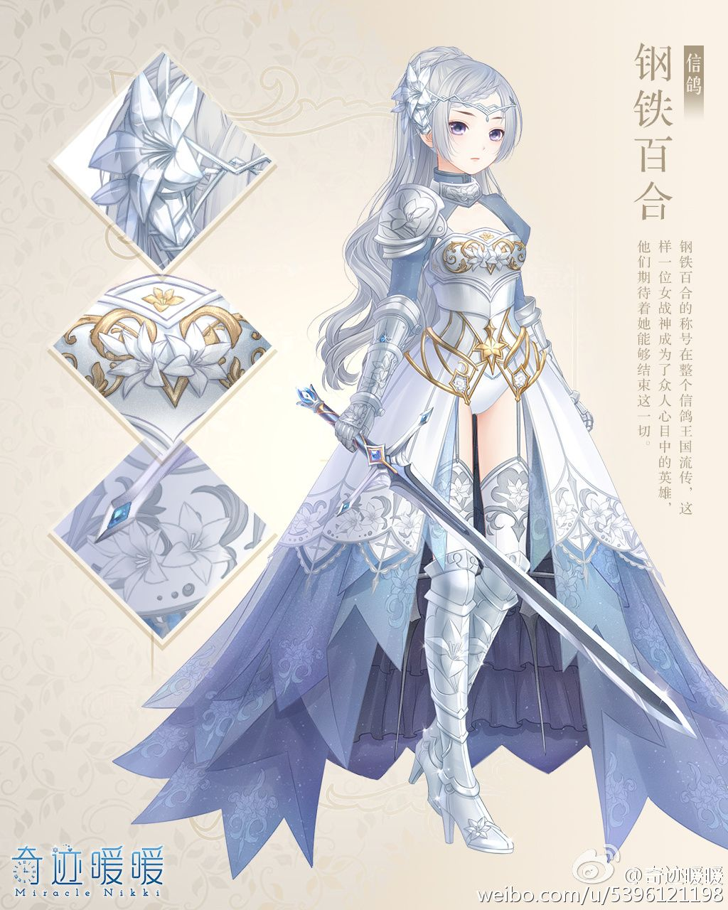 Anime English Dresses