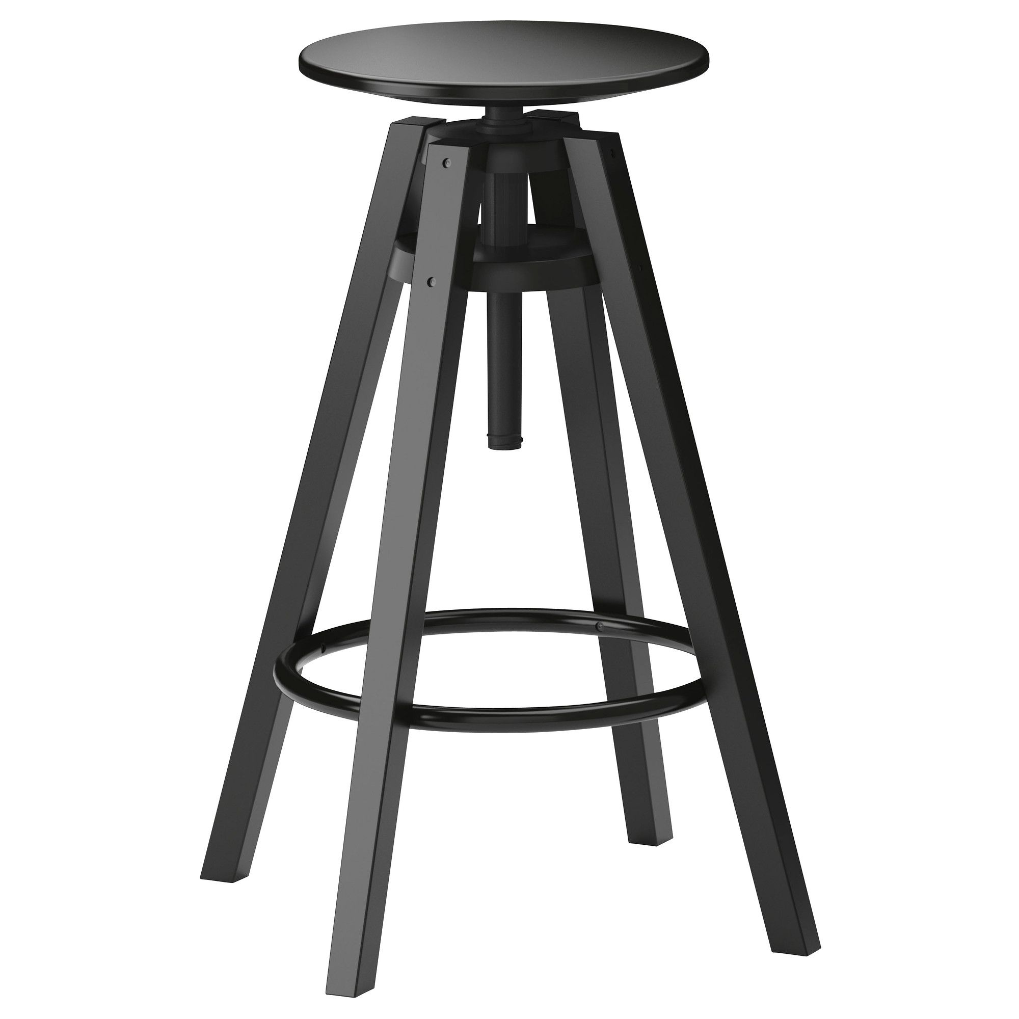 Dalfred Bar Stool Ikea 39 99 Seat Diameter 11 3 4 Width 14 5 8 Depth 19 Suitable For Heights Between 35 And 43 1