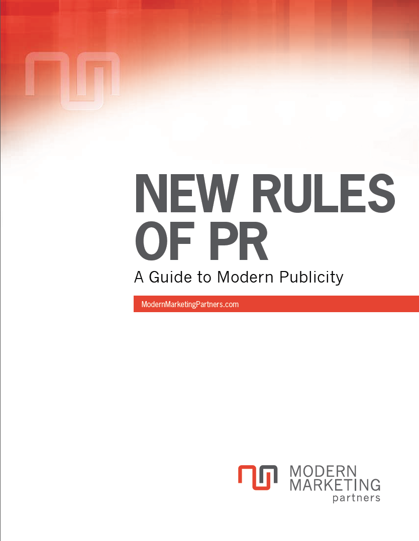 New Rules of PR: A Guide to Modern Publicity http://www.modernmarketingpartners.com/Download.cfm?wp=PR