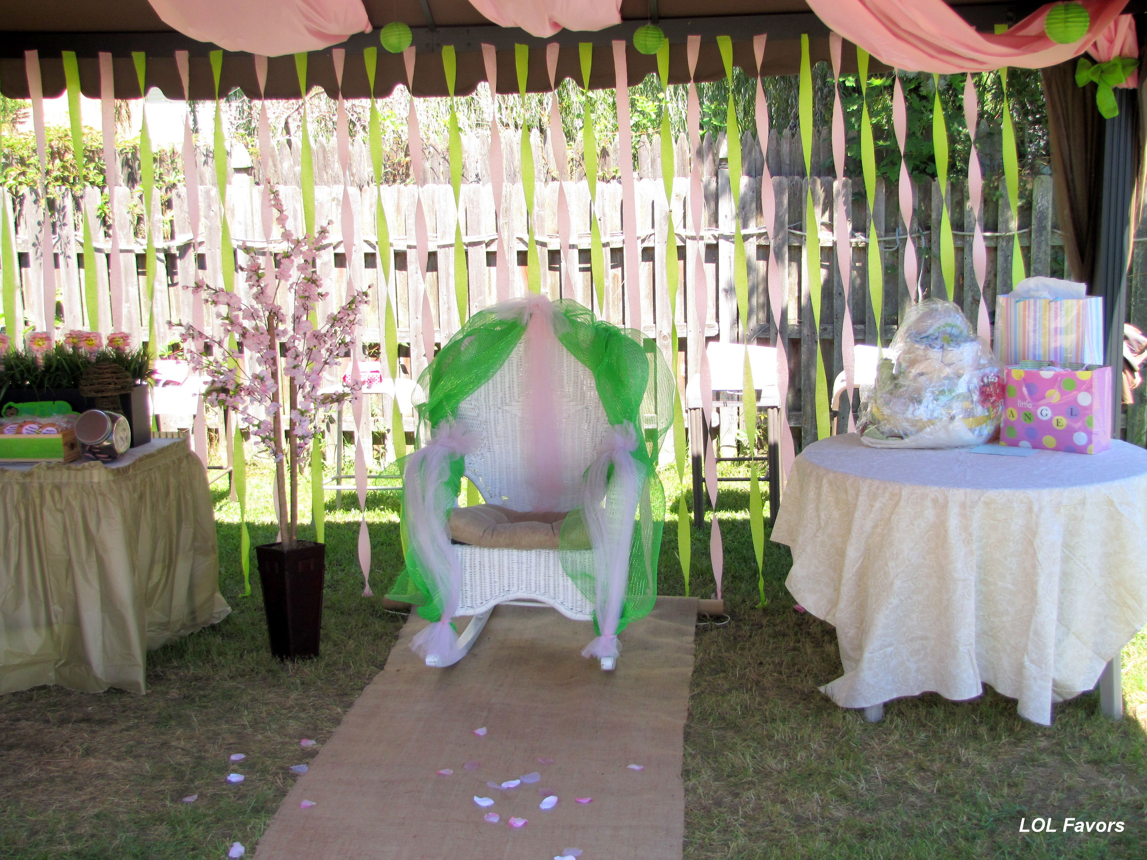Safari Theme Baby Shower transform your backyard into a retreat