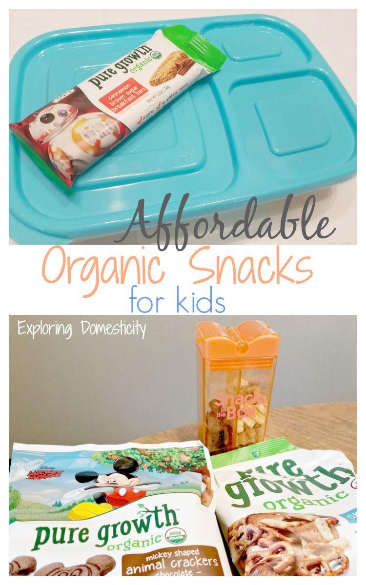Affordable Organic Snacks for Kids | Organic snacks, Snacks and Organic