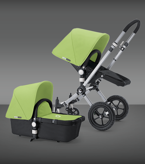 Bugaboo Cameleon stroller, pricey, but easy to use and