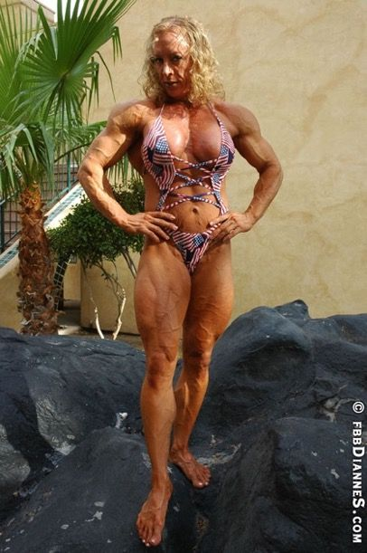 Bodybuilder Weiblich