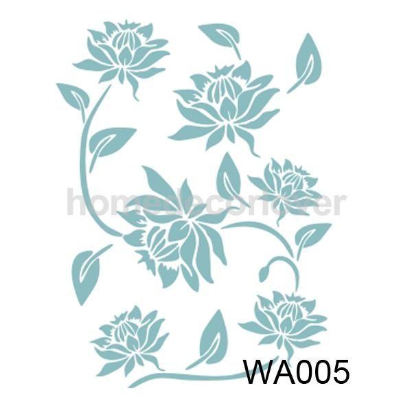 Resultado de imagen para plantilla stencil flor | Μοτίβα | Pinterest ...