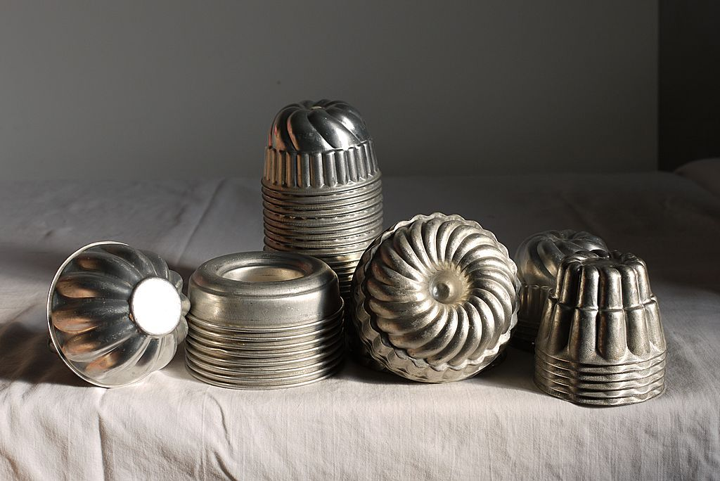 -increasing collection of Vintage Aluminum Molds.