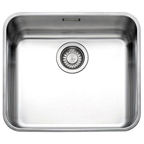 Franke Largo LAX 110 45 Undermounted Single Bowl Kitchen Sink ...