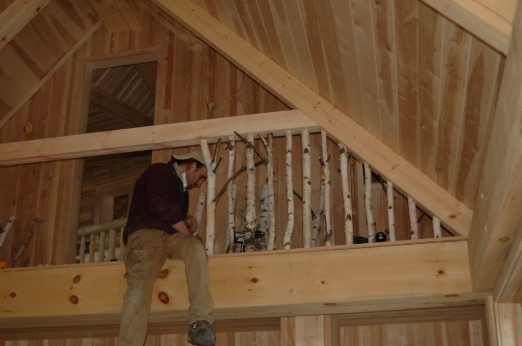 Best Log Home Railings Search Pictures Photos Cabin Loft Log 400 x 300