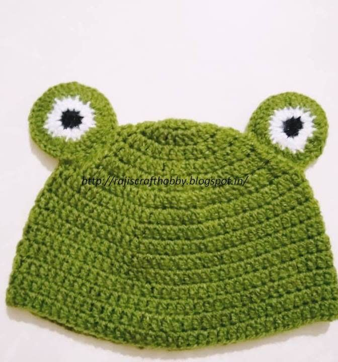 Frog Hat by rajiscrafthobby | Crochet-1: All About Crochet | Pinterest