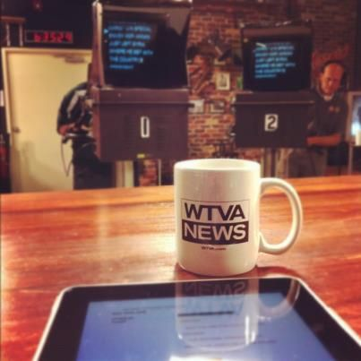 Serving you a cup of joe each morning on WTVA News Today    Behind