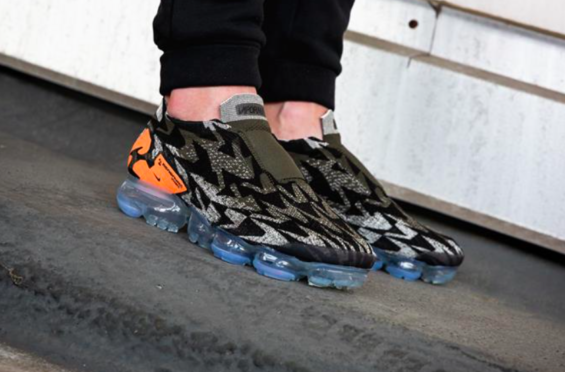 4384ee2caf8 Release Reminder  ACRONYM x Nike Air VaporMax Moc 2 Dark Stucco The ACRONYM  x Nike