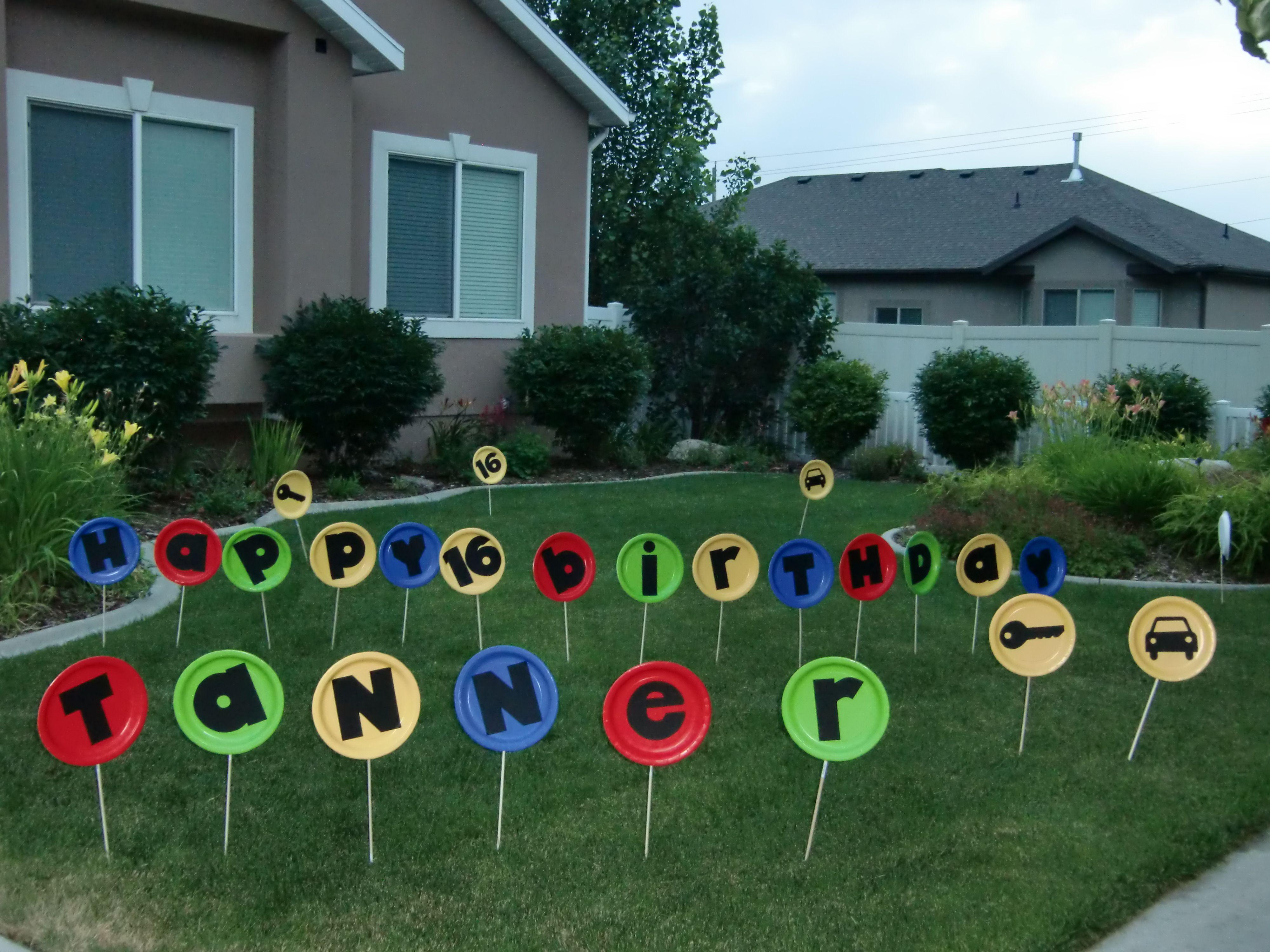 Pin By Gertrudis Almodovar On Birthday Ideas Boy 16th Birthday Birthday Return Gifts Birthday Fun