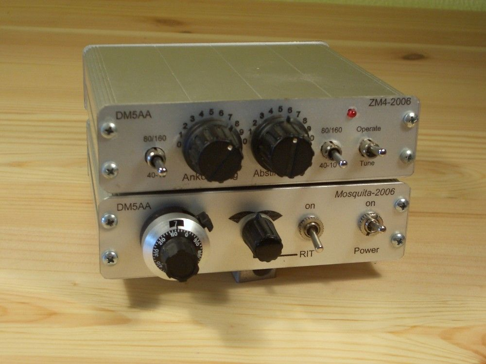 Mosquita And ZM 4 Tuner By DM5AA