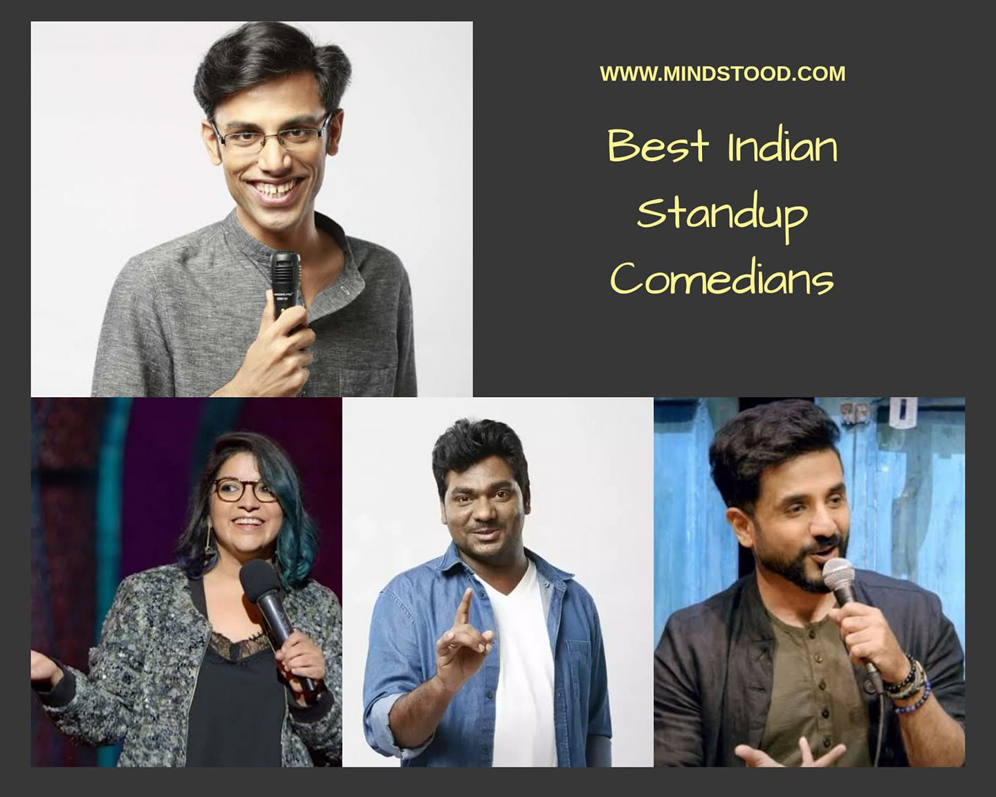 Famous Indian comedians in 2020 Comedians, Stand up