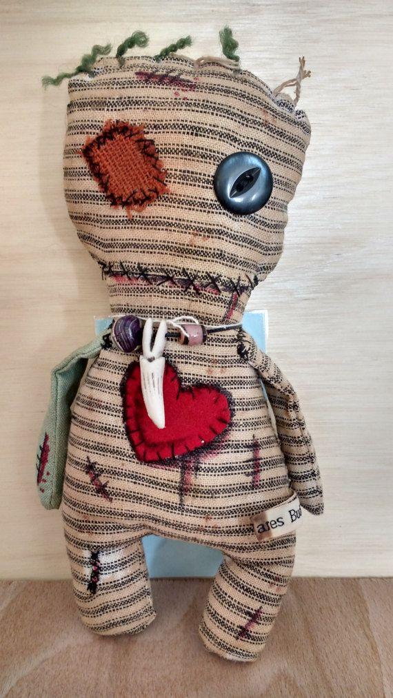 Voodoo doll Juju doll art doll zombie rag by ...