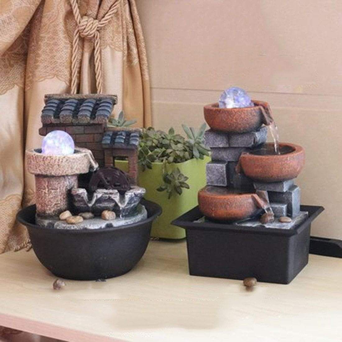 Creative Indoor Water Fountains Feng Shui Gift Fontaine