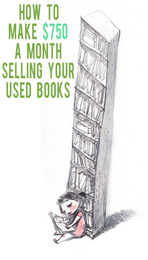 How to Make Money Selling Used Books | AndThenWeSaved.com
