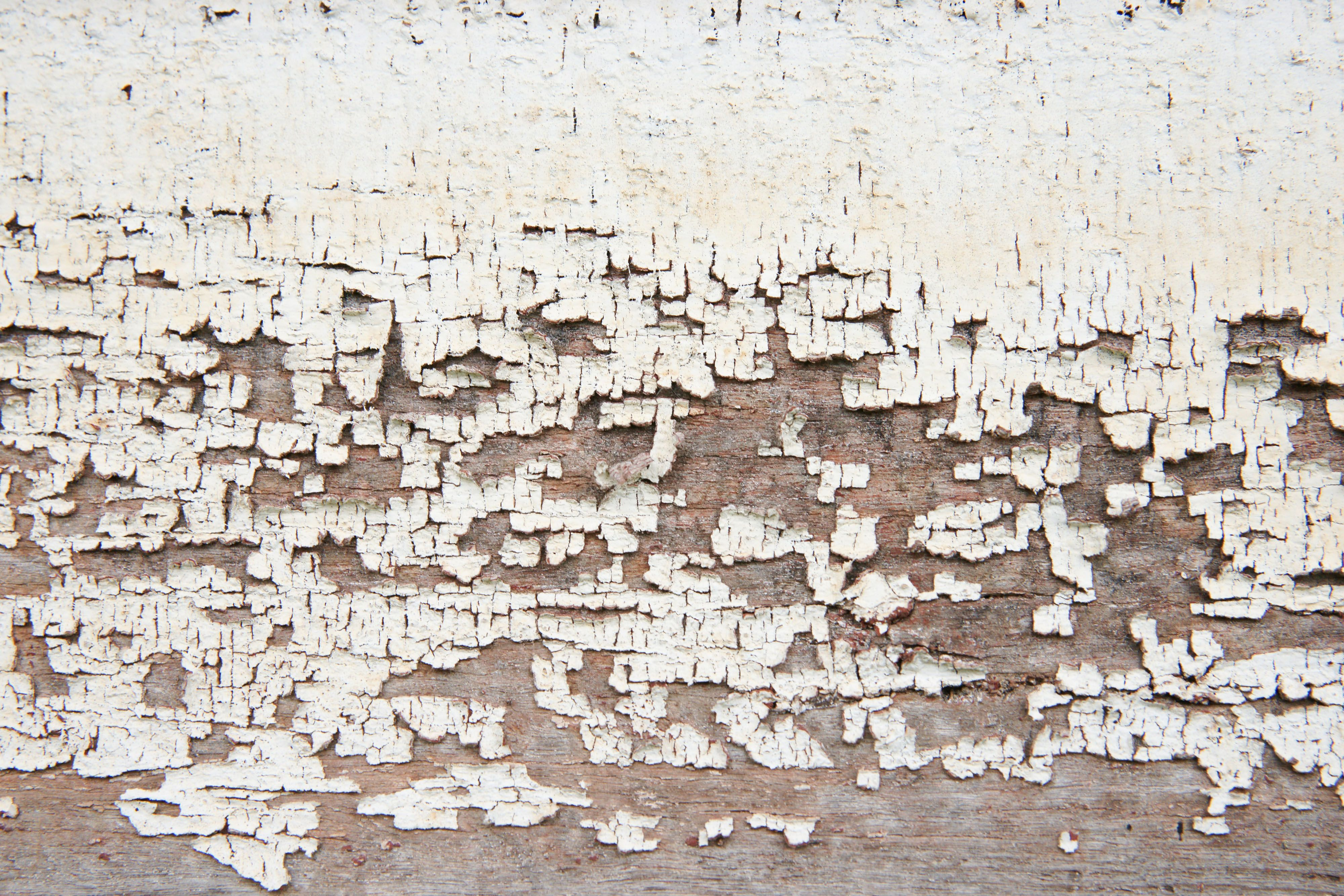 Three Closeups Of Peeling Paint On Wooden Wall Textures