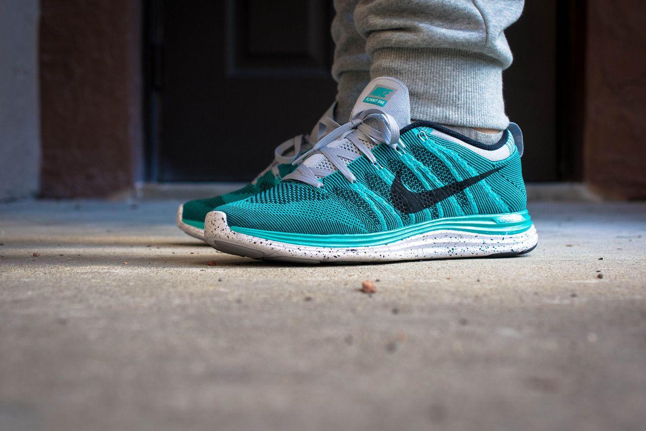 Nike Flyknit Lunar 1+ -- Sport Turquoise