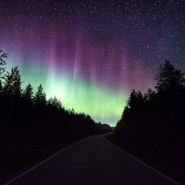 Quiet night near Koli, Finland. Have a great weekend everyone!