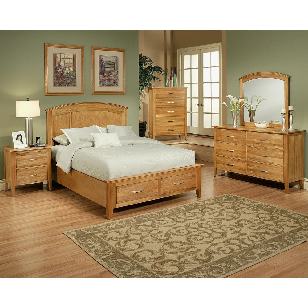 Firefly Bedroom Collection (With images)  Oak bedroom furniture