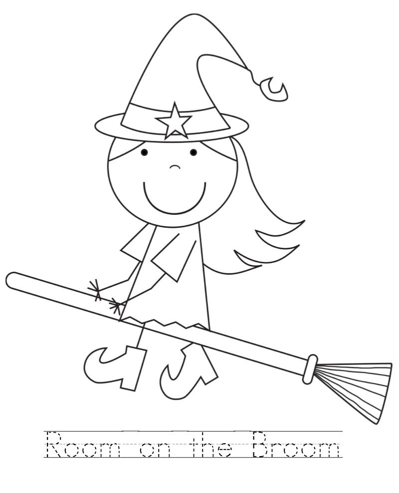 broom coloring pages - photo#20