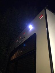 Best way to light up your RV without calling an electrician = SolarBlaze Solar LED lights