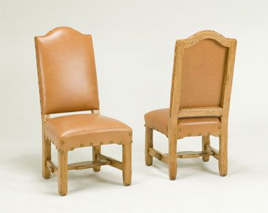 Bausman Company 3314 Side Chair Arched Back Side Chairs