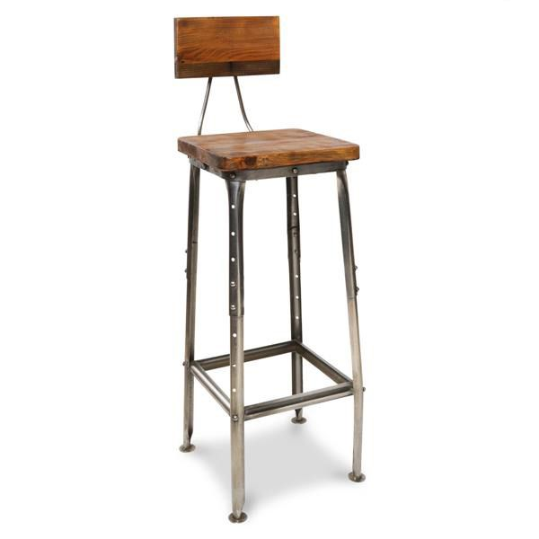 Industrial Style Wood amp Iron Bar Stool The Other  : 62d73054b750e240860ef7990ddfad1e from www.pinterest.com size 600 x 600 jpeg 25kB